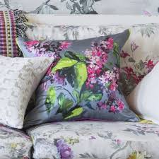 designers guild cushions buddleia blossom cushions pinterest