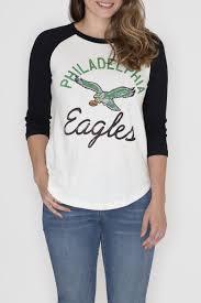 philadelphia eagles home decor junk food clothing philadelphia eagles raglan tee from