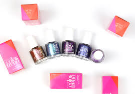 avon color trend nail polish lacquered bits