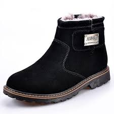 Warm Comfortable Boots Fashion Casual Shoes Men Winter Mens Classic Leather Shoes