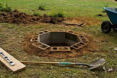 Build Backyard Fire Pit - garden design garden design with diy friday the easy backyard