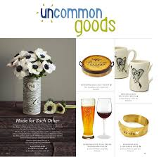 unique wedding registry gifts unique wedding registry ideas from uncommongoods and a giveaway