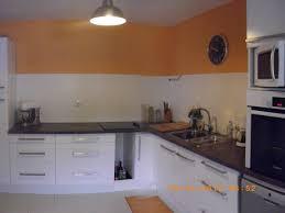 cuisine marron et blanc cuisine apres photo 1 2 on a repeind le plafond dé tapissé