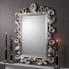 Decorative Mirrors For Bathrooms by Far Pavilions Augusta Mirror Silver Leaf Decorating Ideas