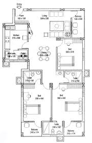 1710 sq ft 3 bhk 3t apartment for sale in hi life builders