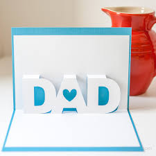 father u0027s day pop up card with free silhouette templates free