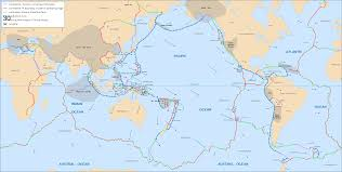 World Map With Coordinates by Tectonic Plates Boundaries Detailed U2022 Mapsof Net