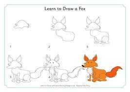 learn to draw a fox 460 0 jpg
