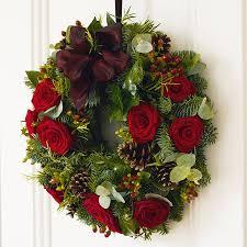 front door wreaths notonthehighstreet com
