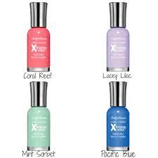 pretty nail polish colors for the spring sally hansen