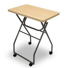 Folding Table With Wheels Furinno 11043mp Gy Easi Folding Multipurpose Tray