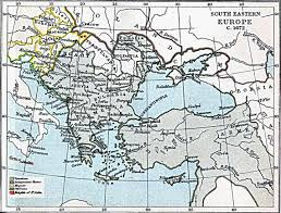Map Of Eastern Europe by
