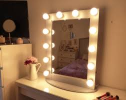 Stand Alone Vanity Vanity Mirror With Lights Makeup Mirror Wall Hanging Or