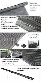 Curtain Side Material New Universal Car Sunscreen Car Curtain Window Auto Car Curtain