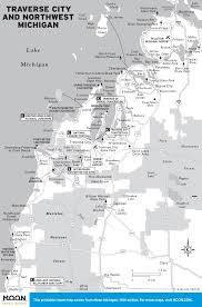 Michigan Casino Map by Printable Travel Maps Of Michigan Moon Travel Guides