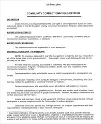 Correctional Officer Job Description Resume by Correctional Officer Job Description Resume How To Write A Ulogy