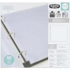 photo album refill pages 3 ring binder pkgs we r memory keepers album refill pages for 3 ring binders ebay