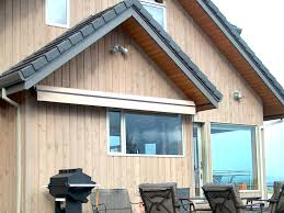 Custom Awning Retractable Residential Awnings Waagmeester Awnings U0026 Sun Shades
