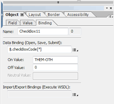 adobe livecycle designer how to test if a checkbox is selected in adobe livecycle designer