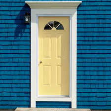 Pale Yellow Paint Personalize Your Front Door With Paint Colors Front Doors