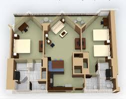 Disney 2 Bedroom Villas Breakdown Of Disney Vacation Club Rooms On Disney Pix