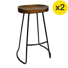 bar stools handmade rustic bar stools with square wood seat and
