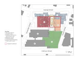 Floor Plan Of Auditorium by Gaillard Center David M Schwarz Architects Inc