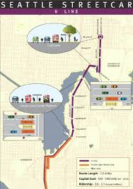 Seattle Monorail Map by More Streetcars Please The Northwest Urbanist