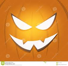 halloween scary pumpkin face background stock vector image 60471458