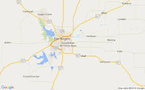 map of san angelo san angelo alert safety necklace cain s mobility tx