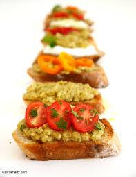 recette canap ap ritif facile recette apéritif facile crostini à la tapenade fêtes
