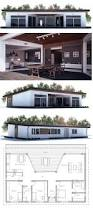 House Planing Small House Plan With Large Covered Terrace And Full Wall Height
