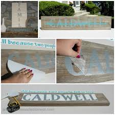 home decor family signs family name sign home made interest