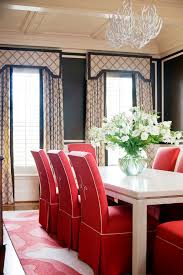 Allen Roth Curtains Inspired Parson Chairsin Dining Room Traditional With Winsome