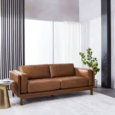 Leather Sofa Packages Dekalb Leather Sofa 85 West Elm