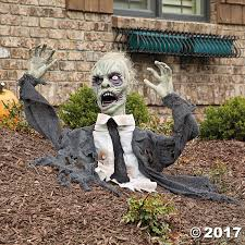 cool halloween yard decorations scary 2017 halloween home decor oriental trading