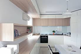 Furniture Of Kitchen A Custom Design Makes The Most Of An Irregular Apartment Floor Plan