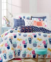 whim by martha stewart collection pretty in pots 5 pc comforter