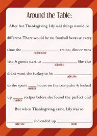 thanksgiving mad libs madewithmakr makrplace sponsored