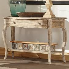 Shabby Chic Console Table Awesome Cottage Country Console Sofa Tables Youll Wayfair
