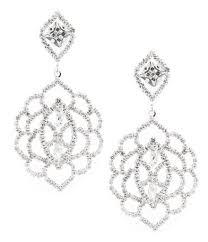 Black Bead Earrings Bronze Chandelier Women U0027s Earrings Dillards