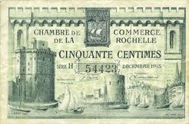 chambre de commerce de la rochelle banknotes emergency notes la rochelle 17 chambre de