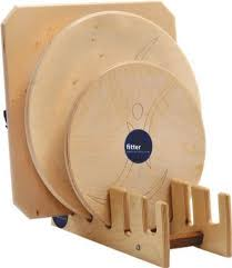 fitter wobble board stand for balance baords and rocker boards