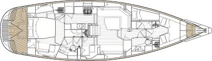 Interior Layout Oyster 475 Oyster Yachts