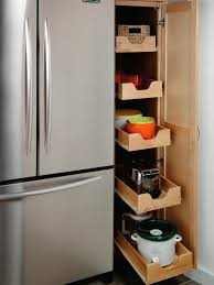 Kitchen Without Cabinets Pantry Cabinets And Cupboards Organization Ideas And Options