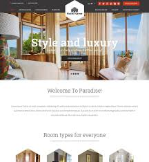 website to design a room vevs hotel websites website builder