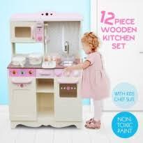 Childrens Play Vanity Kids Play Kitchen Toy Kitchen Playset Online For Sale