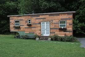 Wood Paneled Tiny House Built On A Gooseneck Trailer Tiny House Plans For A Gooseneck Trailer
