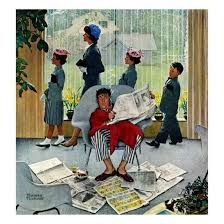 sunday morning may 16 1959 giclee print by norman rockwell at