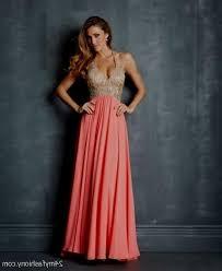 coral and gold dress naf dresses